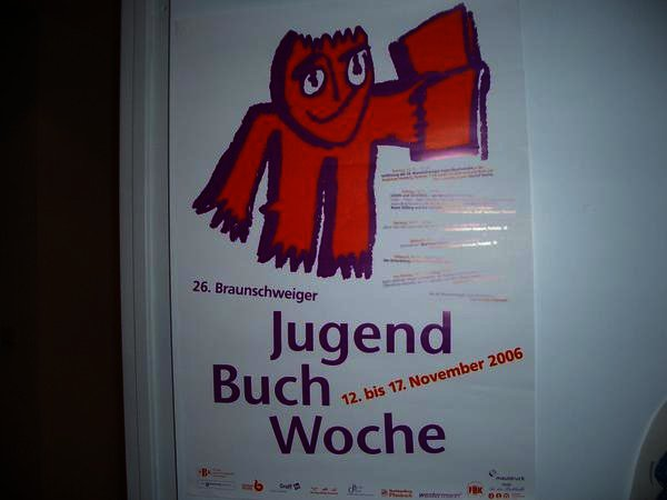 Herr Günther bei der Jugendbuchwoche 2006