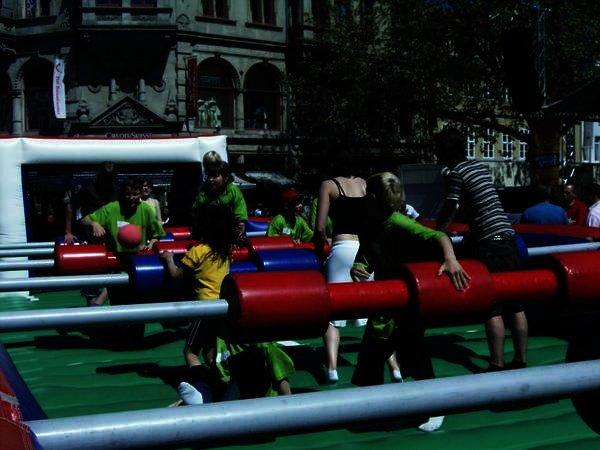 Klasse 5c beim Landesturnfest