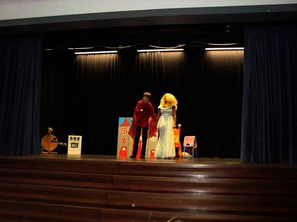 Theateraufführung der Theater-AG