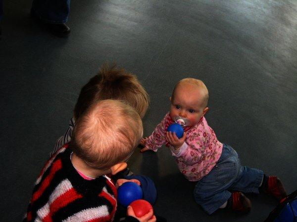 Eröffnung der Kinderbetreuung