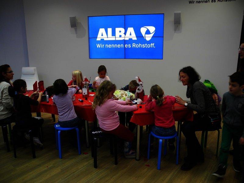 Nikolausbasteln bei ALBA