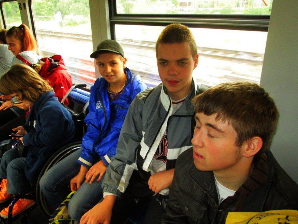 Fotos der Klassenfahrt nach Verden