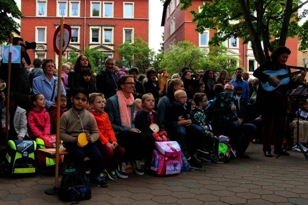Einschulung 2015 an der Grundschule Bürgerstraße