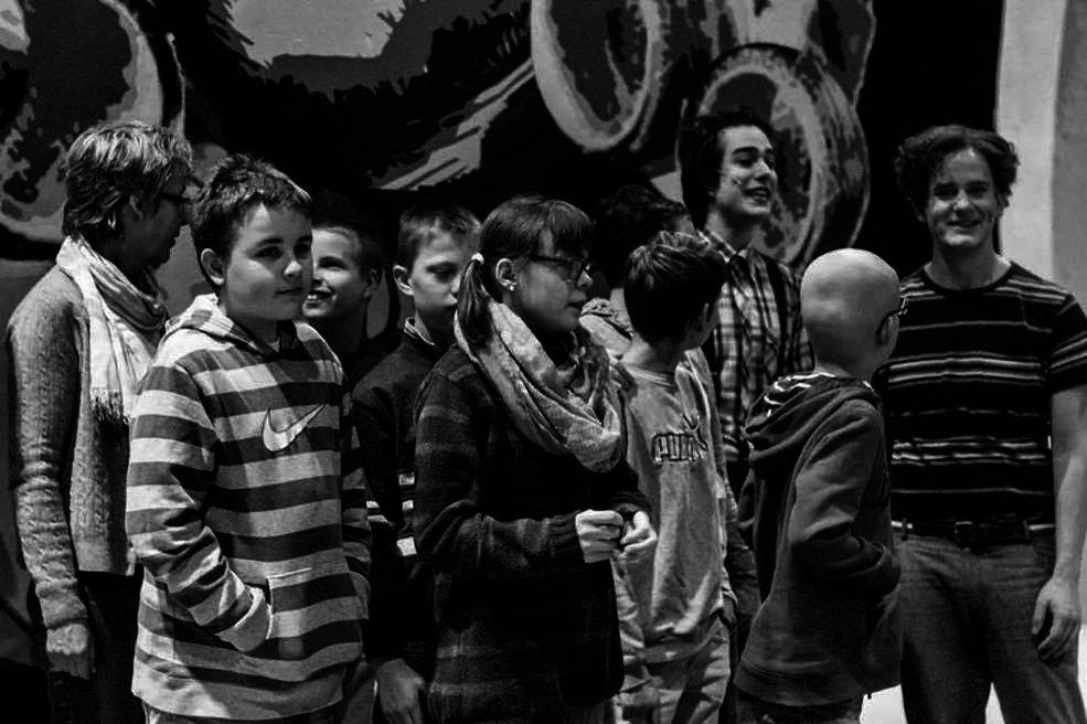 THEATERFOTOS - Die 7c im Theater