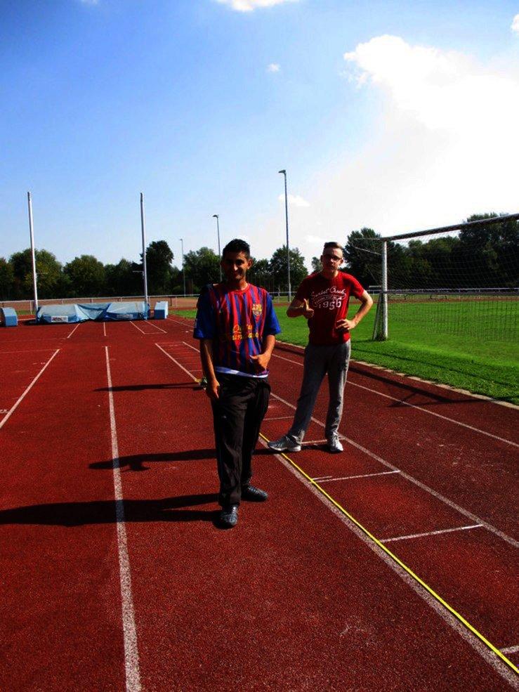 Leichtathletik Mannschaft OBS
