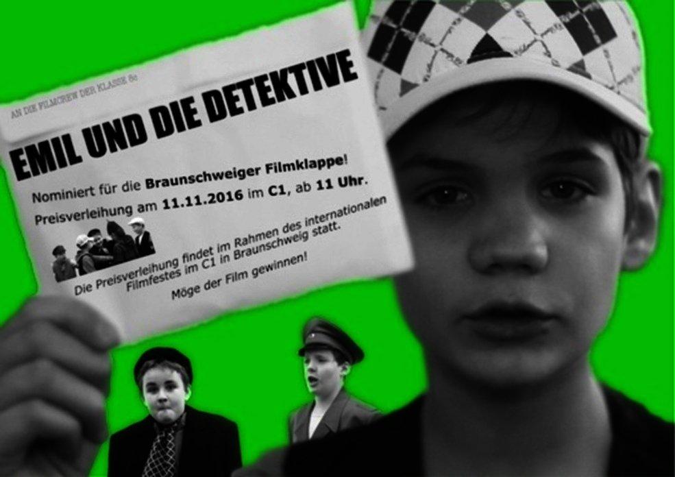EMIL UND DIE DETEKTIVE - FLYER - Nominierung