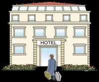 Icon eines Hotels